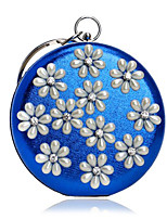 Women Bags Polyester Evening Bag Buttons for Casual All Seasons Blue Gold Silver