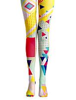 Damen Druck Bedruckt Legging