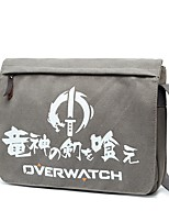Bag Inspired by Overwatch Bertolt Huber Anime Cosplay Accessories Canvas