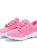 Girls' Shoes Knit Summer Fall Comfort Light Soles Sneakers For Casual Outdoor Blushing Pink Gray Black