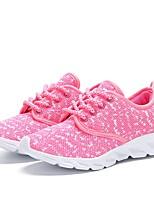 Fille Chaussures Tricot Eté Automne Confort Semelles Légères Basket Pour Décontracté Noir Gris Rose