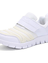 Girls' Shoes Tulle Fall Comfort Athletic Shoes Lace-up For Athletic White