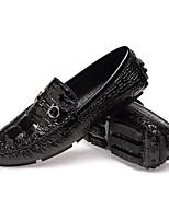 Homme Chaussures Cuir Automne Hiver Chaussures de plongée Confort Nouveauté Mocassins et Chaussons+D6148 Marche Combinaison Pour