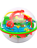 Maze & Sequential Puzzles Maze Ball Educational Toy Toys 3D Kids Adults' 1 Pieces