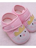 Baby Shoes Cotton Spring Fall Comfort First Walkers Sneakers For Casual Light Pink Light Blue Light Yellow