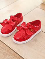 Girls' Shoes PU Summer Comfort Flats For Casual Light Pink Red Black