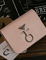 Women Bags PU Shoulder Bag Zipper for Casual All Seasons Black Red Blushing Pink Sillver Gray Brown