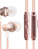 JTX X13 En el oido Con Cable Auriculares Dinámica Teléfono Móvil Auricular Aislamiento de ruido Con Micrófono Auriculares