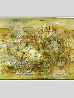 Peint à la main Abstrait Abstrait Un Panneau Toile Peinture à l'huile Hang-peint For Décoration d'intérieur
