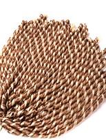 Dread Locks Hair Braid Afro 100% Kanekalon Hair Auburn Purple Light Blonde Beige Blonde Dark Brown 16