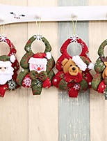 1pc Noël Décorations de NoëlForDécorations de vacances 5*5*1