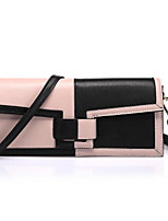Women Bags All Seasons Cowhide Clutch Zipper for Casual White Blushing Pink Light Purple