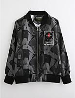 Boys' Geometric Jacket & Coat,Cotton Fall Long Sleeve