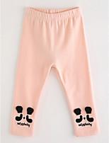 Pantalons Fille Dessin-Animé Coton Automne