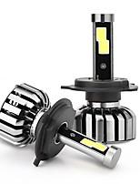 joyshine n7-h4 (9003 hb2 salut / lo) 80 w 8000lm ip68 6000k dc9-36v led phares de voiture ampoules (2pcs)