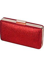 Women Bags All Seasons PU Evening Bag Buttons for Shopping Casual Champagne Gold Black Silver Red