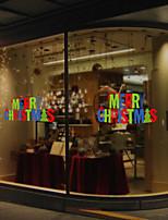 Noël Stickers muraux Autocollants avion Autocollants muraux décoratifs Matériel Décoration d'intérieur Calque Mural