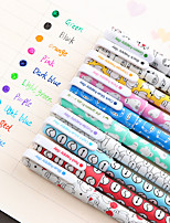 10 PCS/Set Baymax Colorful Gel Pen