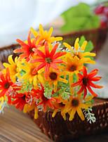1 Une succursale Plastique Orchidées Fleur de Table Fleurs artificielles