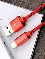 Fokoos USB 2.0 to USB 2.0 Type C Connect Cable Male - Male 0.25m(0.8Ft)