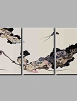 Stretched Canvas Print Modern,Three Panels Canvas Horizontal Panoramic Print Wall Decor For Home Decoration
