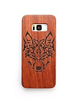 Case For Samsung Galaxy S8 Plus S8 Shockproof Back Cover Animal Hard Wooden for S8 S8 Plus