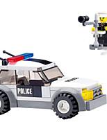 Building Blocks Police car Climbing Car Toys Vehicles Military Boys 69 Pieces
