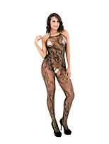 Ultra Sexy Vêtement de nuit Femme,Sexy Fleurs Nylon
