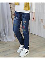 Jeans Fille Imprimé Autres Automne