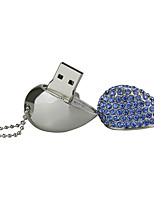 4G U Disk Crystal  Pen Drive  Pen Drive Jewelry Usb Flash Drive USB 2.0 Christmas Gift