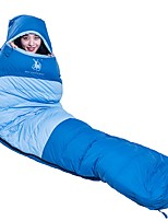 Sleeping Bag Mummy Bag Down 5/-5°C Mountaineering 220X85 Camping / Hiking / Caving Trekking Traveling Camping & Hiking Single