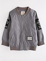 Boys' Solid Jacket & Coat,Cotton Fall Long Sleeve