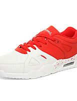 Men's Shoes PU Fall Comfort Sneakers Lace-up For Casual Outdoor Green Red Black