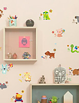 Animales Pegatinas de pared Calcomanías de Aviones para Pared Calcomanías Decorativas de Pared Material Decoración hogareña Vinilos