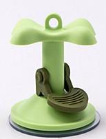 Chien Autocollant Bouton Portable Couleur Pleine Vert
