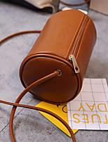 Women Bags All Seasons PU Shoulder Bag Zipper for Casual Black Blushing Pink Brown