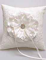 Rhinestones Ribbon Bowknot Flower(s) Satin Wedding Ceremony Beautiful