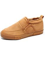 Homme Chaussures Polyester Automne Hiver Confort Mocassins et Chaussons+D6148 Elastique Pour Décontracté Noir Gris Kaki