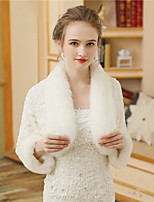 Women's Wrap Shrugs Faux Fur Wedding Party/ Evening Pattern / Print Fur