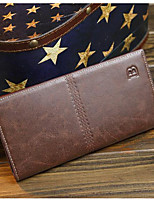 Men Bags Cowhide Wallet Zipper for Event/Party Formal All Seasons Blue Brown