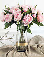 1 Branch Silk Peonies Tabletop Flower Artificial Flowers Home Decoration