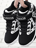 Для мужчин обувь Полиуретан Весна Осень Удобная обувь Кеды Назначение Повседневные Черно-белый Черный/Желтый