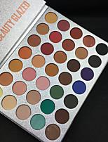 35 Eyeshadow Palette Eyeshadow palette Daily Makeup Halloween Makeup Party Makeup Cateye Makeup Smokey Makeup