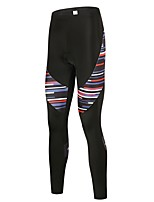 Cycling Tights Unisex Bike Bottoms Bike Wear Reflective Strip Solid Mountain Cycling Cycling Mountain Bike/MTB