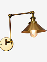 AC 110-120 AC 220-240 4 E26/E27 Simple LED Vintage Country Retro Electroplate Feature for Mini Style Swing Arm Eye Protection,Downlight