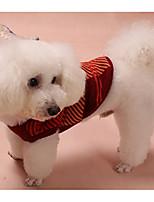 Cane Felpe con cappuccio Abbigliamento per cani Casual Formale Rosso Blu
