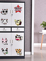 Animals Wall Stickers Plane Wall Stickers Fridge Stickers,Plastic Material Home Decoration Wall Decal