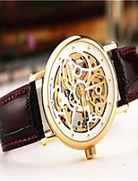 Men's Dress Watch Fashion Watch Wrist watch Automatic self-winding Leather Band