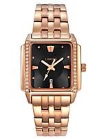 Men's Dress Watch Fashion Watch Wrist watch Quartz Alloy Band Black Gold Rose Gold