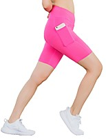 Women's Running Shorts Fitness, Running & Yoga Shorts Yoga Running/Jogging Casual Slim Black Red Blue Pink Grey XS S M L XL